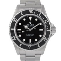 Rolex Steel Submariner Non-Date, Ref: 14060, With Box &...