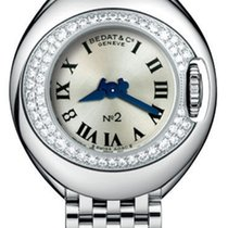 Bedat & Co No. 2 Stainless Steel & Diamond Womens...