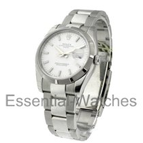 Rolex Unworn 115210 Date Mens Engine Turned with Oyster...