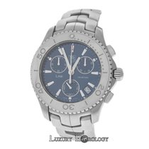TAG Heuer Authentic Men's  Link CJ1112 Chronograph SS Date