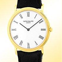 "Patek Philippe Gent's 18K Yellow Gold  # 3520 D ""Ultra..."