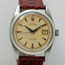 Rolex Red Datejust in Stainless Steel, made in 1953