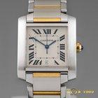 Cartier TANK FRANCAISE MEN'S 18K Gold &S.Steel...