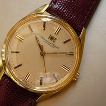 IWC R 810 Cal 89 18K gold vintage dress watch