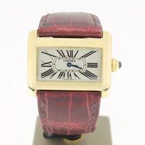 Cartier Divan Lady Yellow Gold 18K (B&P2004) 32mm