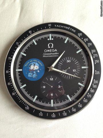 Omega Speedmaster Snoopy Dealer Wall Clock Super Sale For