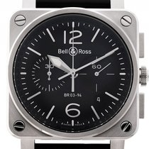 Bell & Ross Aviation BR 03-94 Stahl Automatik Chronograph...