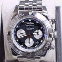 Breitling Chronomat 44 AB 0110 Stainless Steel Black Dial