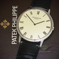 Πατέκ Φιλίπ (Patek Philippe) Calatrava 18k White Gold Silver...