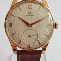 Omega oversized 18k gold dress watch circa 1956 calibre  267