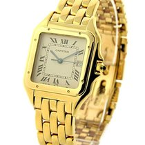 Cartier W25014B9 Panthere - Yellow Gold - 28mm Size - Date at...