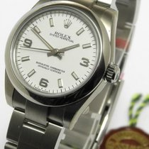 Rolex Oyster Perpetual Lady 31 Mm Ref 177200 M Serie Ungetrage...