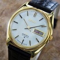 Seiko LM Lord Matic Vintage Japanese 1970s Auto Vintage Gold...