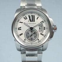 Cartier Calibre de Cartier Stahl weiß -NEU-