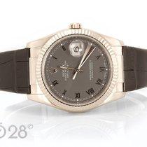 Rolex Datejust 116139 Weißgold Steel Dial - 36 mm aus 2004