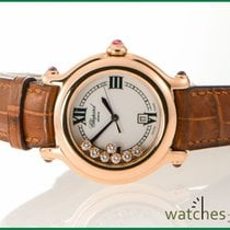 Chopard Happy Sport Medium Gold 7 Stones 32 mm