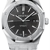 Audemars Piguet Royal Oak Stainless Steel Black Dial