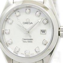 オメガ (Omega) Polished Omega Seamaster Aqua Terra Diamond Mop...