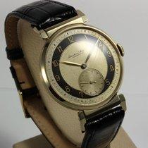 IWC extrem seltene Art Deco Uhr 18K Gold von 1941