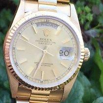 Ρολεξ (Rolex) Mens Ladies 36mm President Watch 18k Yellow Gold...