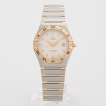 Omega Lady Constellation Date 27mm yellow gold/ steel 1282.30.00