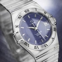 Omega Constellation Perpetual Calendar Quartz Mens Swiss c2000...