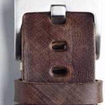 Vintage Uhrenarmband dunkelbraun Panarai-Lochung 22/20...