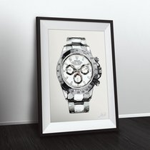 Rolex LIMITED EDITION ROLEX DAYTONA NUMBERED & SIGNED ART...