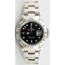 Rolex Explorer II 16570 Black Face Perfect Flawless Condition