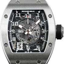 Richard Mille RM010 Mens Watch White Gold