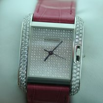 Cartier Tank Anglaise  with Diamonds Dial