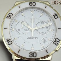 Ταγκ Χόιερ (TAG Heuer) Ladies FORMULA 1 white ceramic diamonds...