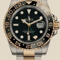 Rolex GMT-Master II 40mm Steel and Yellow Gold