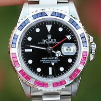 Ρολεξ (Rolex) Watch Mens 40mm Stainless Steel Gmt Master Pepsi...
