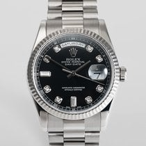 "Rolex Day-Date White Gold ""Diamond Dial"""