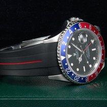 """Rolex GMT-Master """"PEPSI"""" Stahl/Kautschuk LC100  Neue..."""