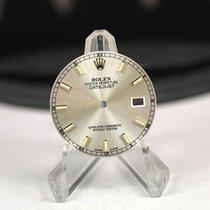 Rolex Zifferblatt für Datejust mit Quickset Silber