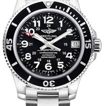 Breitling A17312C9/BD91-179A Superocean II 36 in Steel with...