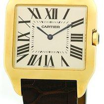 """Cartier """"Santos Dumont"""" Strapwatch."""