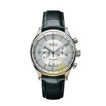 Paul Picot GENTLEMENT chronograph strap skin black dial grey