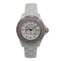 Chanel J12 White Ceramic diamonds