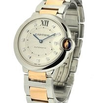 Cartier WE902031 Ballon Bleu Two-Tone 36mm - Steel and Rose...