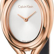 ck Calvin Klein Microbelt K5H236X6 Damenarmbanduhr Design...