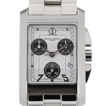 Baume & Mercier Hampton White Dial Quartz Chronograph