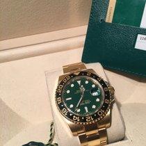 Rolex GMT-Master II 116718LN Green Dial -LC EU- Teilverklekbt