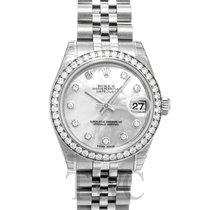 Rolex Lady-Datejust White 18k White gold/Steel MOP G Ø31mm -...
