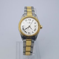 Baume & Mercier Ladies 29mm Gold Steel Baumatic Automatic...