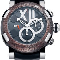 Romain Jerome Titanic DNA Rusted steel T-OXY III Chronograph...