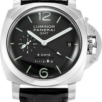 Panerai Luminor 1950 8 Days GMT Acciaio 44mm Auto Men Watch...