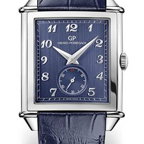 Girard Perregaux VINTAGE SMALL SECONDS Steel Dial Blue...
